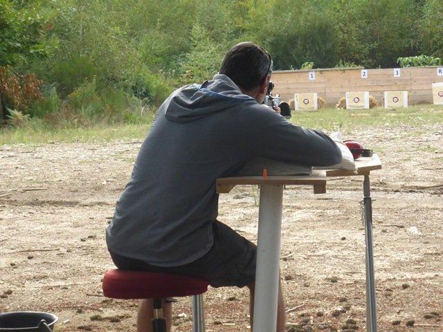 Journée de tir et de réglage des armes