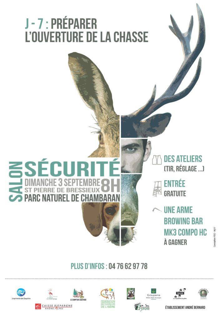 Dimanche 3 septembre : 3 ème édition du Salon Sécurité