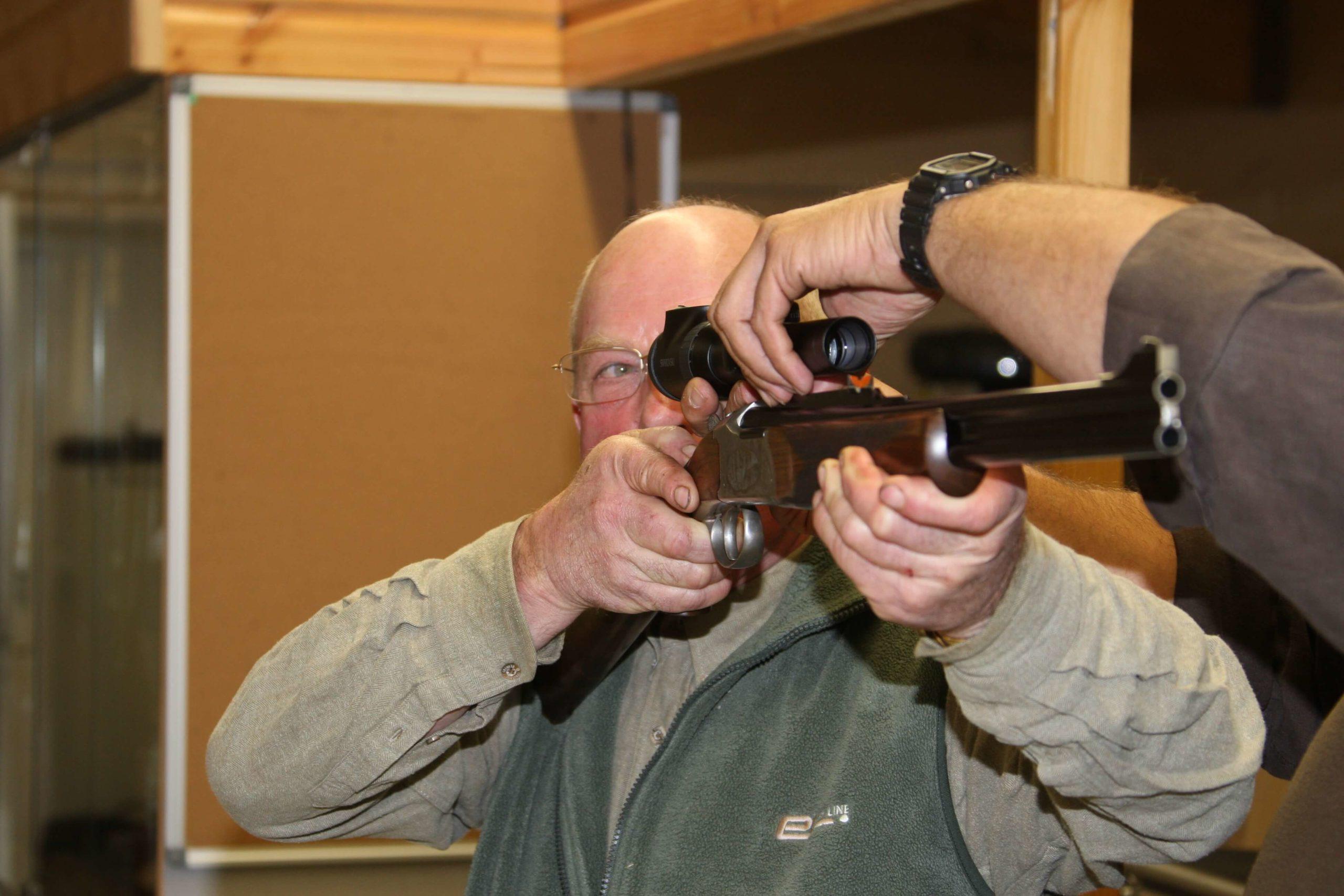 Formation arme, munition et optique