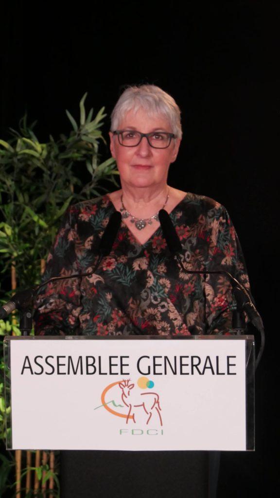 Danielle Chenavier - présidente FDCI